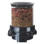 Cal-Mil 1/13/3533 Wall-Mount Topping Dispenser w/ (1) 1.5 liter Container - Plastic, Black