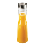 Cal-Mil 3551-55 1.5 liter Beverage Carafe w/ Stainless Steel Lid - Polycarbonate, Clear