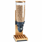 Cal-Mil 3576-1-99FF Countertop Cereal Dispenser w/ (1) 5 liter Container - Wood Stand