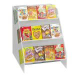 """Cal-Mil 370 3-Tier Countertop Cereal Organizer, Holds 36""""dividual Boxes"""