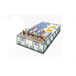 """Cal-Mil 413-6-13 Ice Housing w/ Clear Pan - 7.25""""W x 7""""D x 6.25""""H, Wire/Faux Glass"""