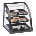 Cal-Mil P255-96 Euro Display Case - Midnight Bamboo