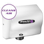 American Dryer CPC9-M Hand Dryer - High Speed, Cold Plasma Clean, Steel White Epoxy
