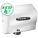 American Dryer EXT7M Hand Dryer w/ 12-15 Second Dry Time & Automatic Sensor, White Epoxy
