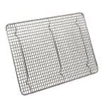 Browne 575516 Footed Pan Grate, 12 x 16-1/2 in, Nickel Plated Wire