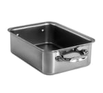 "Mauviel 5117.14 Rectangular Mini Roast Pan - 5.5x3.9x1.8"", Stainless"