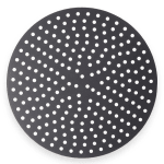 "American Metalcraft 18907PHC 7"" Perforated Pizza Disk, Hardcoat, Aluminum"