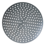 "American Metalcraft 18908P 8"" Perforated Pizza Disk, Aluminum"