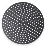 "American Metalcraft 18911PHC 11"" Perforated Pizza Disk, Hardcoat, Aluminum"