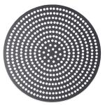 """American Metalcraft 18920SPHC 20"""" Super Perforated Pizza Disk, Hardcoat, Aluminum"""