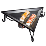 American Metalcraft G777 Triangular Replacement Iron Griddle