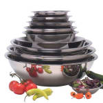 "American Metalcraft SSB150 7.75"" Mixing Bowl w/ 1.5 qt Capacity, Stainless"
