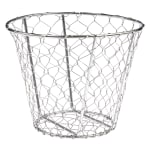 "American Metalcraft WIR1 Wire Basket, 7x5.5"", Chrome"