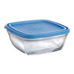 "Duralex 519140AB1 7 7/8""Lys Square Bowl With Lid"