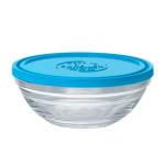 Duralex 9068AM06 2.5-qt Lys Round Storage Bowl w/ Lid, Glass