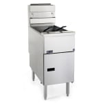 Pitco SG14RS Gas Fryer - (1) 50-lb Vat, Floor Model, NG