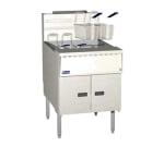 Pitco SGM24-SSTC Gas Fryer - (1) 150-lb Vat, Floor Model, NG