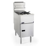 Pitco VF-35S Gas Fryer - (1) 35-lb Vat, Floor Model, NG