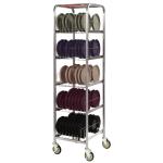 Dinex DXIBDRS90 5-Level Mobile Drying Rack for Trays