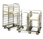 Dinex DXICSUG12 12-Tray Ambient Meal Delivery Cart