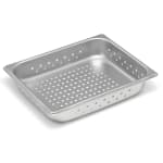 Vollrath 30223 Super Pan V Half-Size Steam Pan - Perforated, Stainless