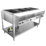 Vollrath 38118 4 Well Hot Food Table - (4)Thermostat, Plate Rest, Cutting Board, 208 240v