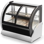 "Vollrath 40881 48"" Full Service Deli Case w/ Curved Glass - (2) Levels, 120v"