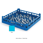 "Vollrath 52671 Dishwasher Flatware Rack - Full-Size, 19 3/4x19 3/4"" Blue"