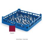 "Vollrath 52671 Dishwasher Flatware Rack - Full-Size, 19 3/4x19 3/4"" Burgundy"