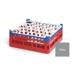 "Vollrath 52703 Dishwasher Rack - 20 Lemon-Drop, Tall, Full-Size, 19 3/4x19 3/4"" Gray"