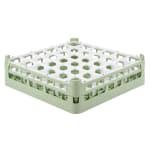 "Vollrath 52779 Dishwasher Rack - 36 Compartment, Medium Plus, Full-Size, 19 3/4x19 3/4"" Green"