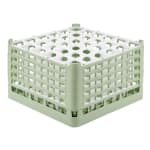 "Vollrath 52783 Dishwasher Rack - 36 Compartment, 3X-Tall Plus, Full-Size, 19 3/4x19 3/4"" Green"