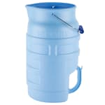Vollrath 7001 Round Ice Tote w/ 5.75-gal Capacity, Blue