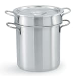 "Vollrath 77110 11.875"" Stainless Steel Double Boiler w/ 11-qt Capacity"