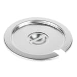 Vollrath 78180 Cover for Vegetable 7 1/4 at Inset, Slotted Stainless, fits 78184