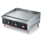 "Vollrath 936GGT 36"" Gas Griddle - Thermostatic, 1"" Steel Plate, NG"