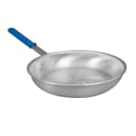"Vollrath E4012 12"" Aluminum Frying Pan w/ Solid Silicone Handle"