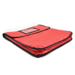 Intedge IPK-2 R Pizza Delivery Pouch, 18 x 5, Red