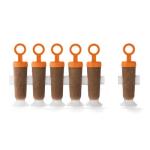 Cuisipro 83-7446 Circle Pop Mold w/ (6) Reusable Sticks & Drip Guards