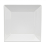 "Homer Laughlin 08310000 8.5"" Square Times Square Plate - China, Arctic White"