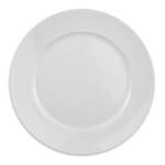 "Homer Laughlin 120810000 9"" Round RE-21 Plate - China, Arctic White"