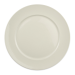"Homer Laughlin 12132100 12.25"" Round RE-21 Plate - China, Ivory"