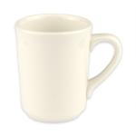 Homer Laughlin 13000 8.25 oz Denver Mug - China, Ivory