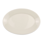 "Homer Laughlin 15400 10.5"" Oval Platter - China, Ivory"