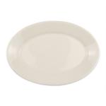 "Homer Laughlin 15400 10.5"" Oval Platter - China, Ivory"