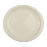 "Homer Laughlin 158800 12.13"" Oval Newell Plate - China, Ivory"