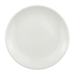 "Homer Laughlin 20046800 6.5"" Round Alexa Bread & Butter Plate - China, Ameriwhite"