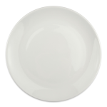 "Homer Laughlin 20086800 10.38"" Round Alexa Dinner Plate - China, Ameriwhite"