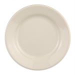 "Homer Laughlin 20200 6.63"" Round Plate - China, Ivory"