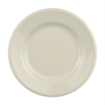 "Homer Laughlin 20300 7.13"" Round Plate - China, Ivory"